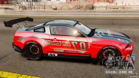 Ford Mustang 2010 GT1 para GTA 4 esquerda vista