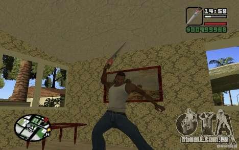 Serra para GTA San Andreas quinto tela