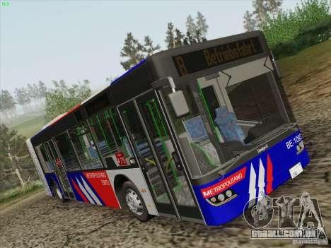Design X3 para GTA San Andreas traseira esquerda vista