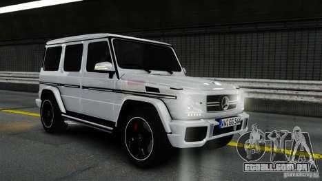 Mercedes-Benz G65 AMG (W463) 2012 v1.2 para GTA 4