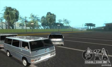 Nissan Caravan E20 para GTA San Andreas vista direita