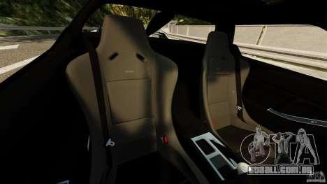 Honda NSX-R GT para GTA 4 vista interior