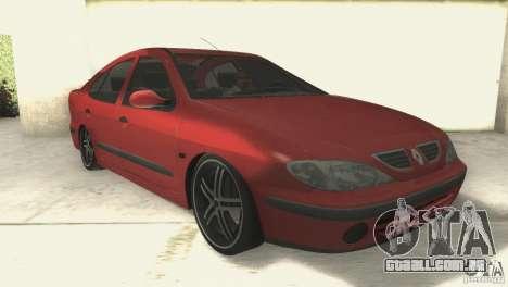 Renault Megane 2000 para GTA San Andreas