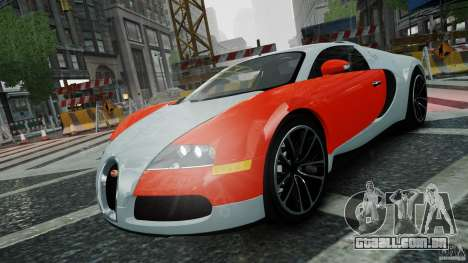 Bugatti Veyron 16.4 v1.0 wheel 1 para GTA 4 vista lateral