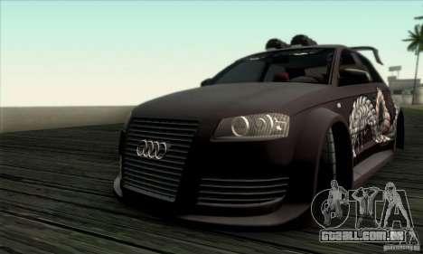 Audi A3 Tunable para vista lateral GTA San Andreas