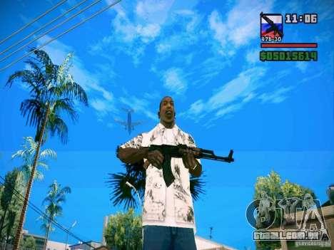 New Weapon Pack para GTA San Andreas segunda tela