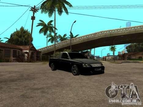 Lada Priora Pickup para GTA San Andreas