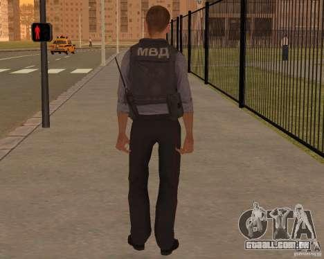 O MINISTÉRIO DE ASSUNTOS INTERNOS DA RÚSSIA para GTA San Andreas segunda tela