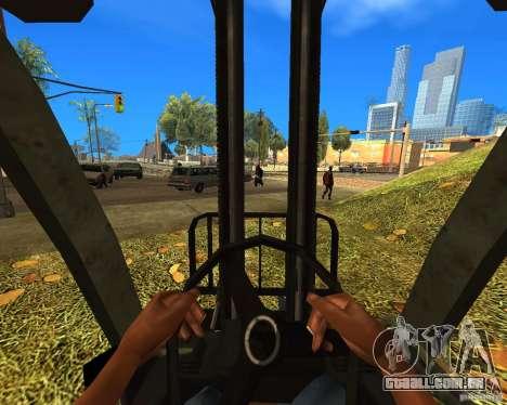 Carregador do COD MW 2 para GTA San Andreas traseira esquerda vista