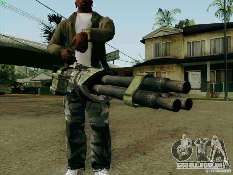 Minigun de Duke Nukem Forever para GTA San Andreas