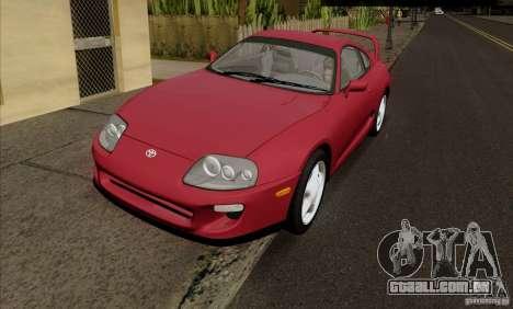 Toyota Supra RZ 98 Twin Turbo para GTA San Andreas