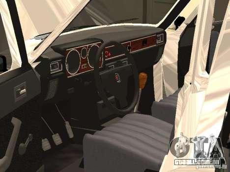 GAZ 24-10 para GTA San Andreas vista superior