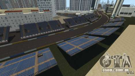 Long Beach Circuit [Beta] para GTA 4 segundo screenshot
