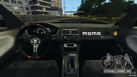 Nissan 240SX Kawabata Drift para GTA 4 vista de volta