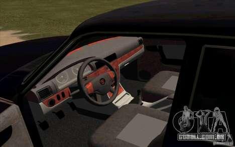 GAZ 31105 Restyling para GTA San Andreas vista direita