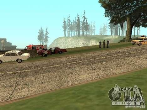 Um acidente horrível para GTA San Andreas segunda tela