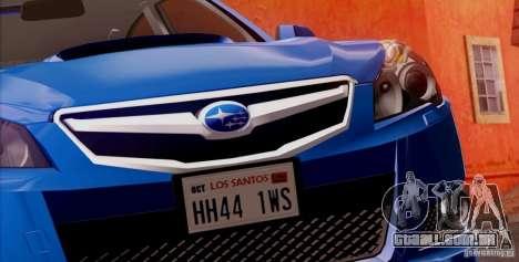 Subaru Legacy B4 2010 para as rodas de GTA San Andreas