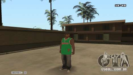 Skin Pack Groove Street para GTA San Andreas sexta tela