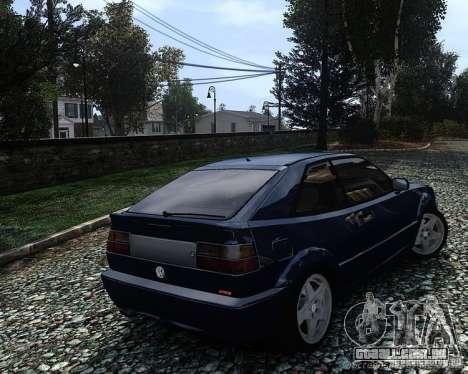 Volkswagen Corrado VR6 para GTA 4 esquerda vista