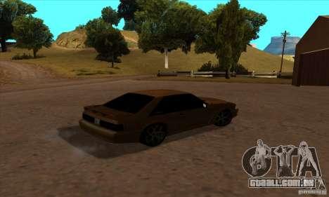 Ford Mustang SVT Cobra 1993 para GTA San Andreas esquerda vista