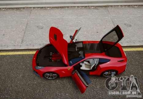 Ferrari F12 Berlinetta 2013 para GTA 4 traseira esquerda vista