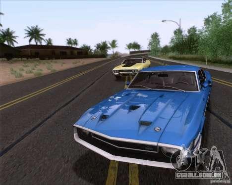 Shelby GT500 428 Cobra Jet 1969 para o motor de GTA San Andreas