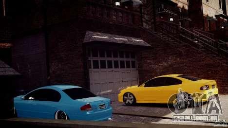 Holden Monaro para GTA 4 vista direita