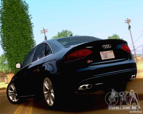 Audi S4 2010 para GTA San Andreas vista direita