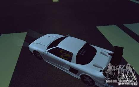 Infernus Tuning para GTA San Andreas traseira esquerda vista