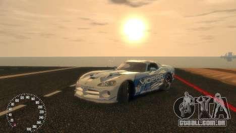 Dodge Viper SRT-10 Mopar Drift para GTA 4