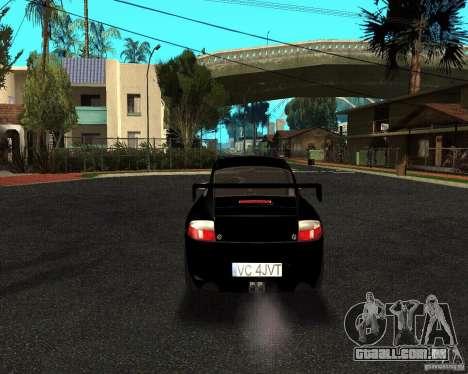 Porsche 911 GT3 RS para GTA San Andreas vista traseira