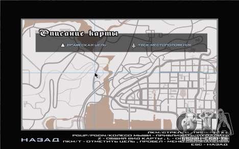GTA V map para GTA San Andreas por diante tela