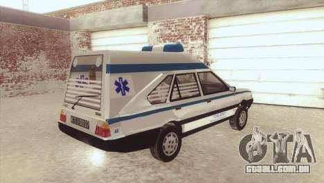 FSO Polonez Cargo MR94 Ambulance para GTA San Andreas esquerda vista
