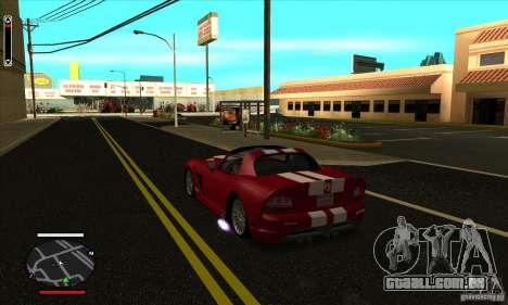 HUD for SAMP para GTA San Andreas segunda tela
