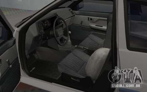 Toyota Corolla GT-S Tunable para GTA San Andreas vista traseira