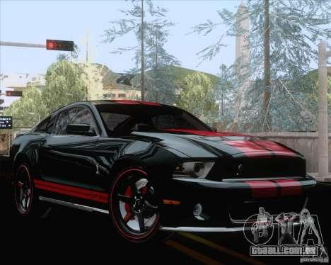 Playable ENB Series v1.2 para GTA San Andreas segunda tela