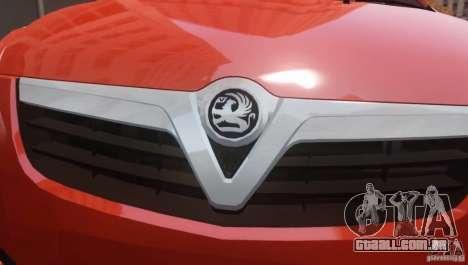Vauxhall Agila 2011 para GTA 4 traseira esquerda vista