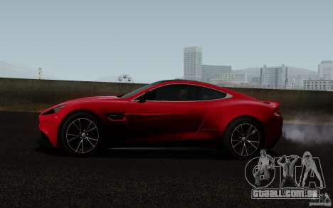 Aston Martin Vanquish 2012 para GTA San Andreas vista direita