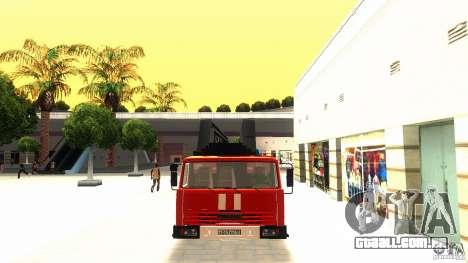 KAMAZ 53229 para GTA San Andreas esquerda vista