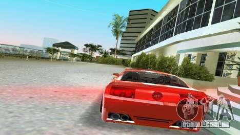 Ford Mustang 2005 GT para GTA Vice City deixou vista