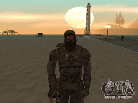 Um maço grande de stalkers grátis para GTA San Andreas segunda tela