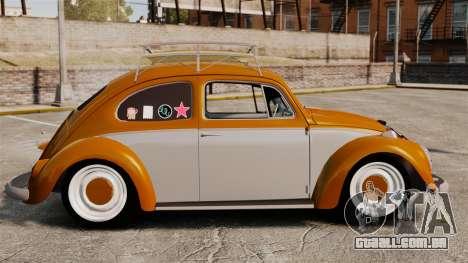 Volkswagen Fusca Edit para GTA 4 esquerda vista