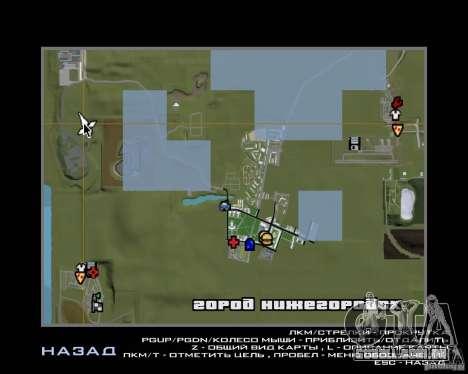 Nižegorodsk 0.5 BETA para GTA San Andreas sexta tela