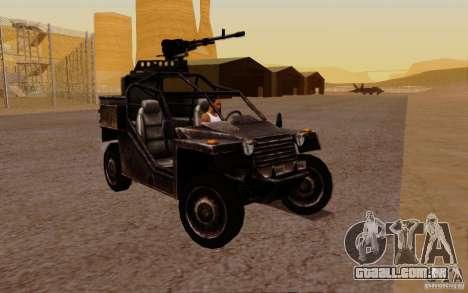Buggy VDV de Battlefield 3 para GTA San Andreas