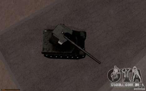 Bat. Chat. 155 SPG para GTA San Andreas vista interior