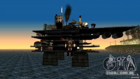 Plataforma de petróleo em Los Santos para GTA San Andreas segunda tela