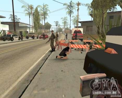 Cena do crime (cena do Crime) para GTA San Andreas sétima tela