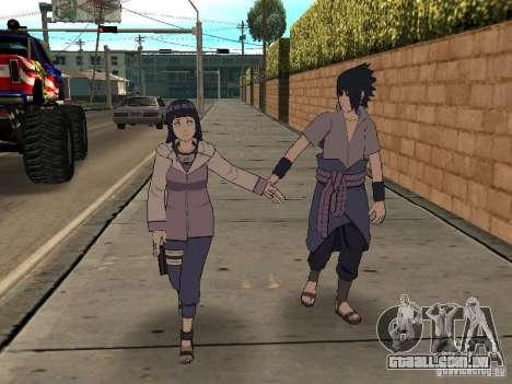 Skin Pack From Naruto para GTA San Andreas quinto tela