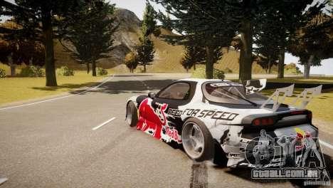 MAZDA RX-7 Mad Mike 2 para GTA 4 traseira esquerda vista