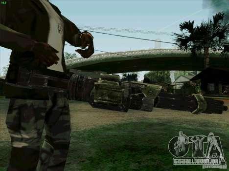 Minigun de Duke Nukem Forever para GTA San Andreas terceira tela